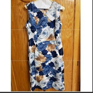 Shelby & Palmer | Sleeveless Floral Dress | 8